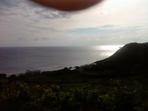 Sundowner view of bay