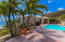 Large pool deck with views of Caribbean Sea.