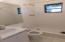 Bathroom for the studio apartment.