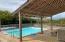 Pool at mezzanine level