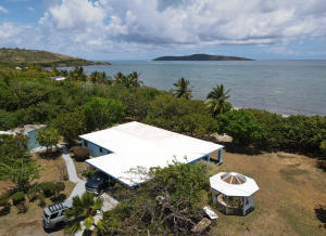AERIAL VIEW WITH GAZEBO AND BUCK ISLAND
