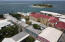 AERIAL WITH HOTEL ON THE CAY