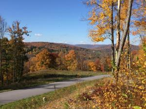 View from front of Meadowview Dr. overlooking mountains.