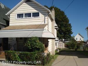 232 Poplar Street Poplar, Wilkes-Barre, PA 18702
