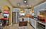 Kitchen, all stainless steel appliances