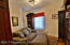 Bedroom 4, built in shelving, walk up attic