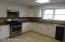 Large Eat-In Kitchen with garbage Disposal and Dish washer, Micro Wave, Range 7 Refrigerator