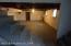 Large Concrete Floor Basement