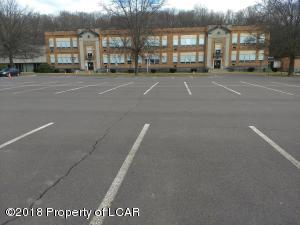 Main, Central Building W/Parking Lot