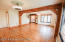 authentic post and beam with hardwood floors