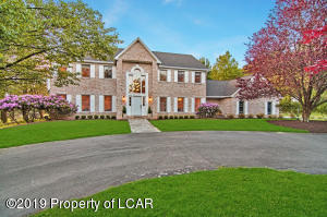 Custom Brick, Circular Drive, 3 acres