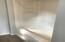 1st floor full bath, fiberglass tub shower unit