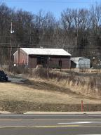 Front of building facing Airport Road - Hazle Twp on 2.06 acres of commercial property. Endless possibilities!