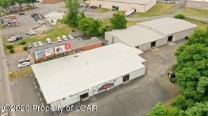 Aerial view 1019 N Washington, Wilkes Barre, Pa.