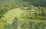 Aerial view looking at whole property