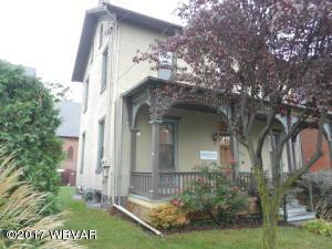 854 W 3RD STREET, Williamsport, PA 17701