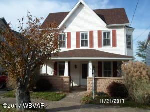 1216 W CENTRAL AVENUE, S. Williamsport, PA 17702