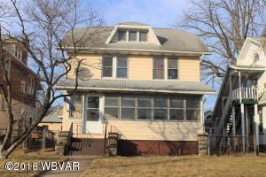 1618 W 4TH STREET, Williamsport, PA 17701