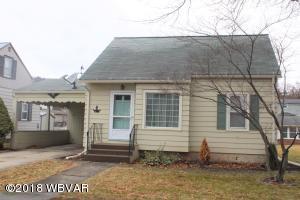 811 WOODLAND AVENUE, Williamsport, PA 17701