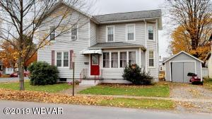 192 CEMETERY STREET, Hughesville, PA 17737