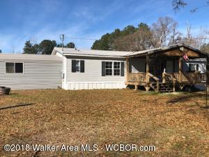 3/2, Open Floor plan, Kit w/gas stove. 2 car carport. Could be 4 BR. On 12.29 private acres.