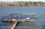 Dock with swimdock, lift
