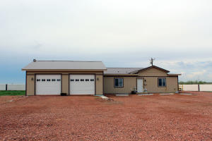 Manufactured Home with Two Car Garage