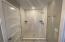 Custom Tiled shower in Primary ensuite bathroom