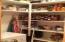 Pantry with freezer