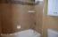 Upstairs Jack & Jill Tub/Shower area.