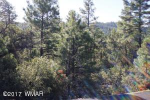 Gorgeous .57 acre lot on a Cul de Saq street in the Gated Community of Pine Oaks in Show Low.