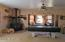 Second wood stove in family room