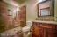 Two spacious guest bathrooms in addition to the master bath.