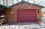 Oversized one car garage.