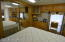 Nice size master bedroom with storage and closet space