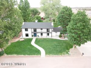 Front aerial view