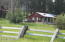 Red Cabin on the Meadow. This one is 780 square feet with one bedroom and one bath,.