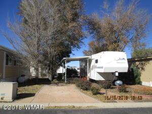 8234 E Lake Shore Drive, LK Lot #375, Show Low, AZ 85901