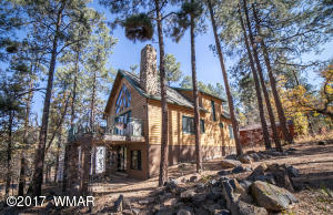 Nestled in the tall ponderosa pines