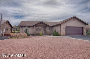 1081 N Bison Golf Court, Show Low, AZ 85901