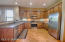 Open Kitchen, ALL Stainless Steal Appliances