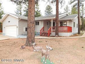 3402 Pine Cone Drive, Overgaard, AZ 85933