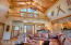 Vaulted ceilings, wet bar and tongue and groove ceilings