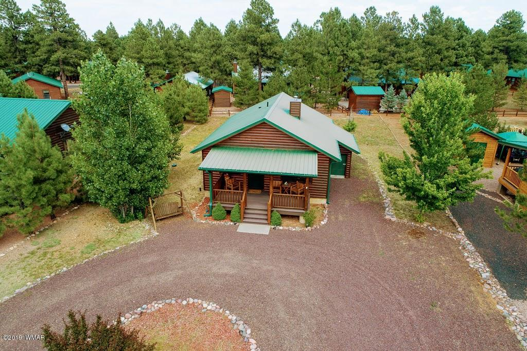 This adorable cabin is the perfect get away for you and your family! Nestled in the pines in the gorgeous community of Heber/Overgaard high atop the Mogollon Rim you will find this little gem will be the peaceful cozy mountain escape you have been dreaming of! Upgrades through out and plenty of space for entertaining! Come see it today before its to late!
