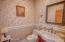 Half bath on lower level