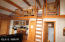 Loft adds character and a bed!