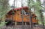Wrap around Deck on this one bedroom cabin!