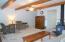 Gorgeous wood beams