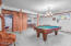 650 sq. ft. basement is the perfect place for games & additional sleeping arrangements, complete with laundry & full bathroom.