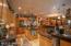gourmet kitchen view